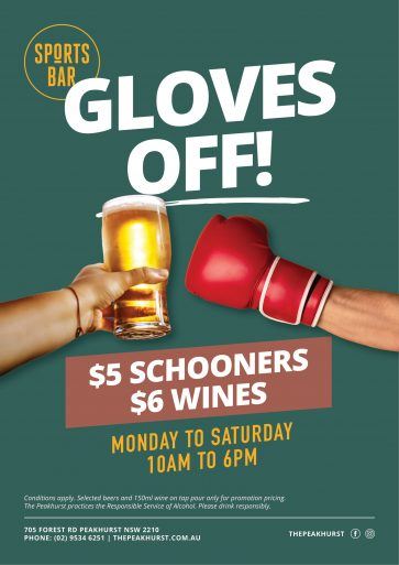 Sports Bar Happy Hour Special - The Peakhurst